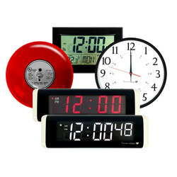School  Clocks (schoolbellsystem)